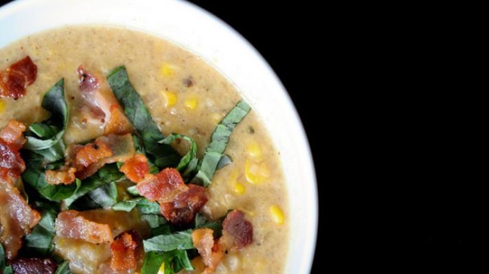 Супа с царевица и бекон|escape
