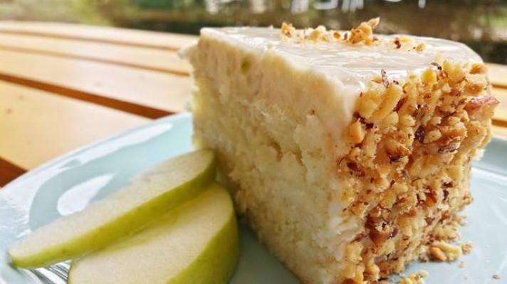 Домашна ябълкова торта