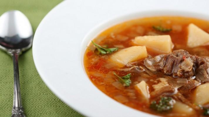 Телешка супа с картофи