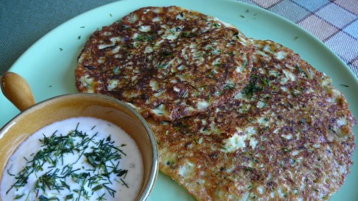 Палачинки от тиквички с кисело мляко|escape