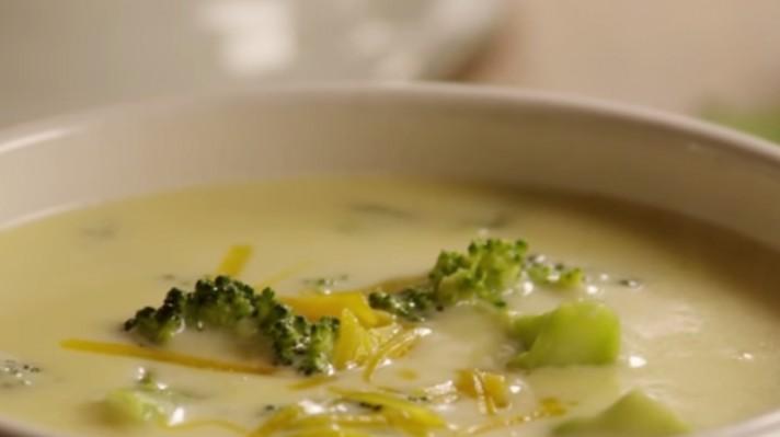 Крем супа от броколи със сирене|escape