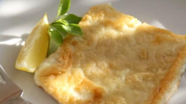 Саганаки - панирано гръцко сирене escape