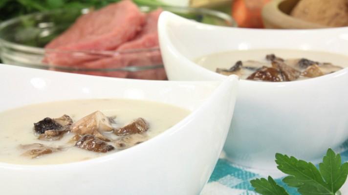 Гъбена крем супа с кокосово мляко|escape