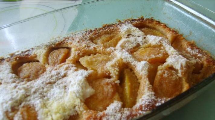 Десерт с праскови от компот|escape
