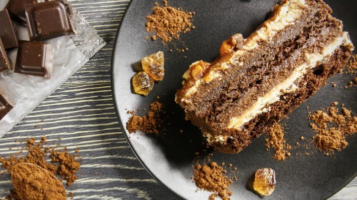 Орехова торта с кафе|escape