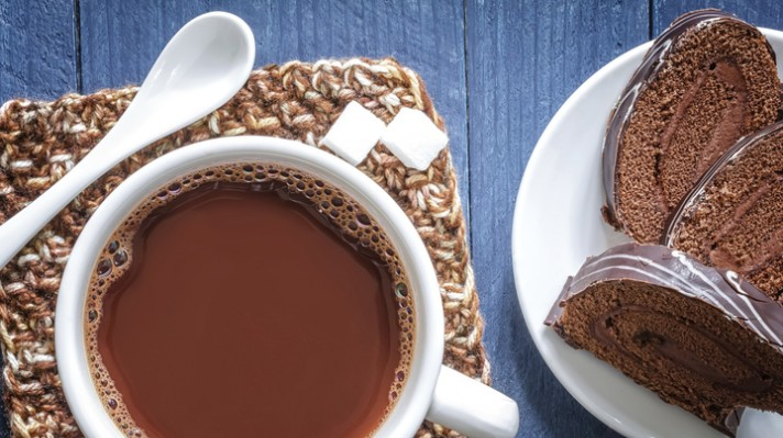 Горещ шоколад със сухо мляко|escape