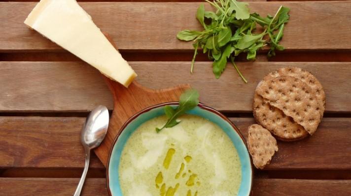 Картофена крем супа с рукола escape
