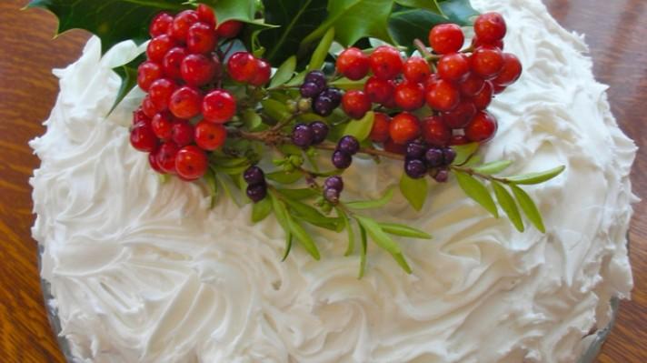 Коледна торта|escape