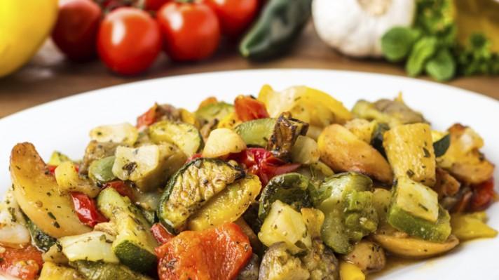 Печени ароматни зеленчуци|escape