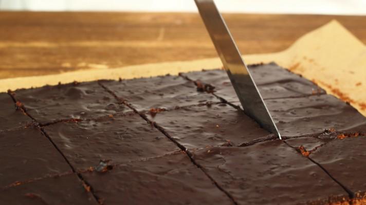 Шоколадов кейк с ванилия|escape