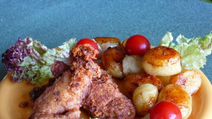 Панирано пилешко бон филе|escape