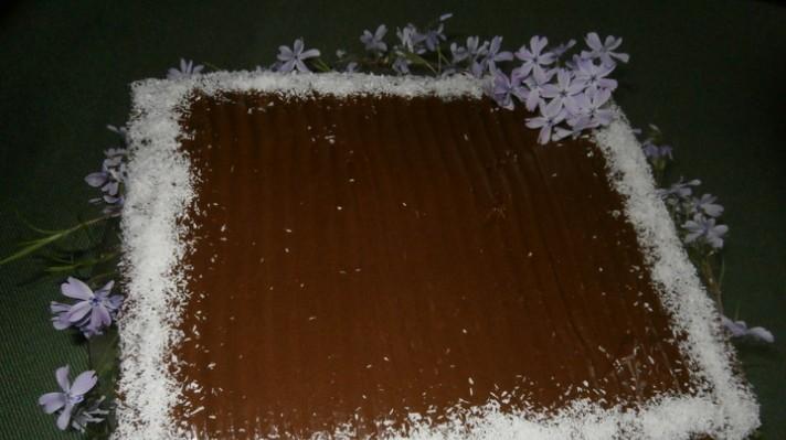 Шоколадова торта с готови блатове|escape