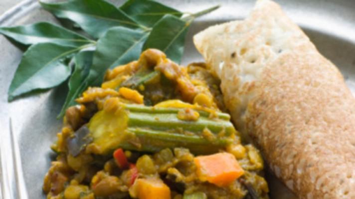 Индийска палачинка Доса|escape