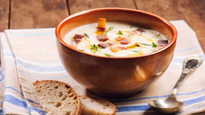 Супа с шунка и картофи|escape