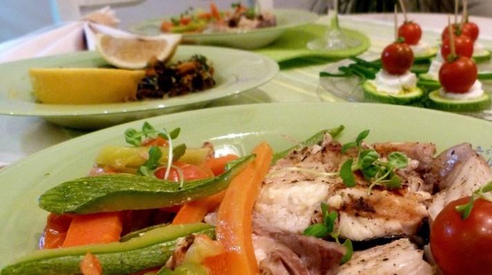 Риба и зеленчуци  на пара|escape