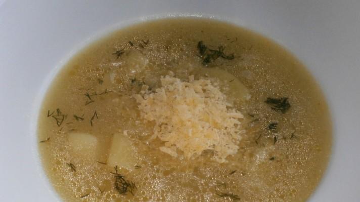 Супа с кашкавал|escape