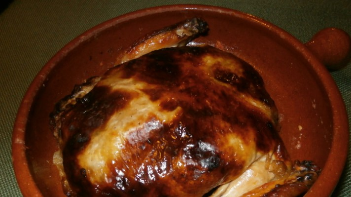 Пълнено пиле с гъби и кисело зеле|escape