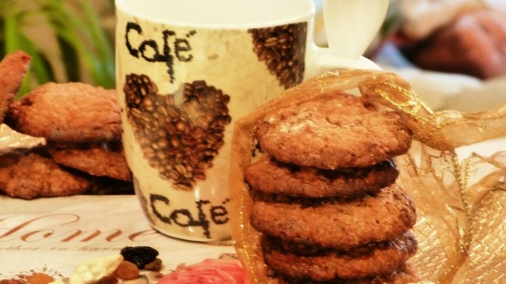 Бисквити с мюсли и орехи|escape