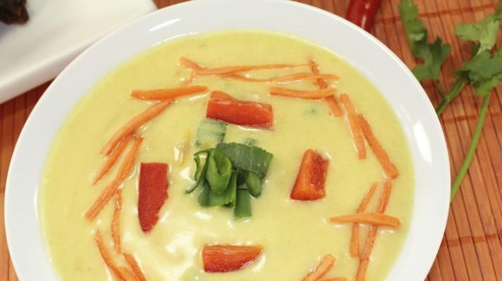 Картофена супа с кокосово мляко escape