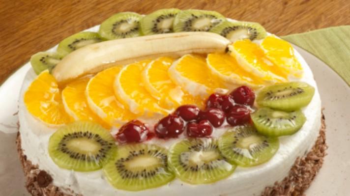 Сметанова торта с бананов крем