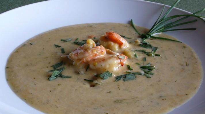 Супа със скариди и броколи|escape