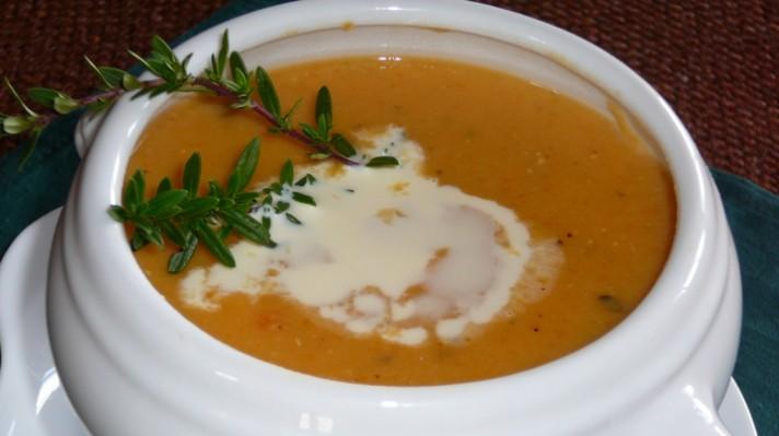 Крем супа с червена леща|escape