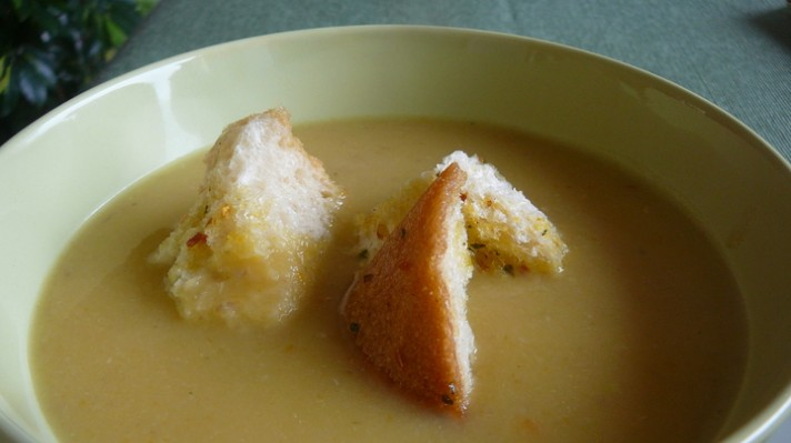 Крем супа с жълт боб|escape