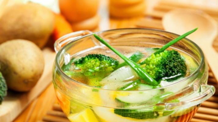 Бистра зеленчукова супа|escape