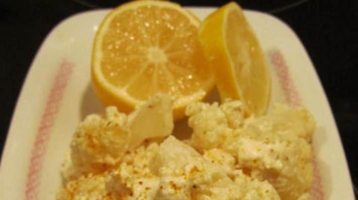 Лимонов карфиол с къри |escape