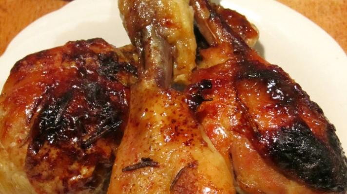 Пилешки бутчета с мед и масло|escape