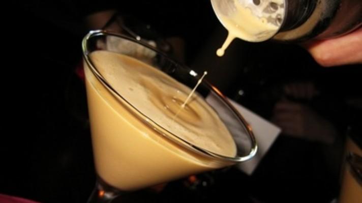 Млечен коктейл с уиски