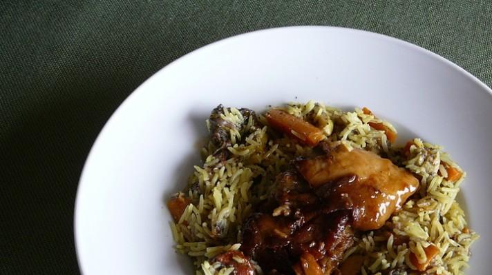 Телешко с ориз и зеленчуци |escape