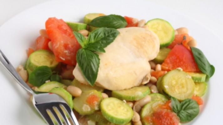 Пиле по италиански със зеленчуци|escape