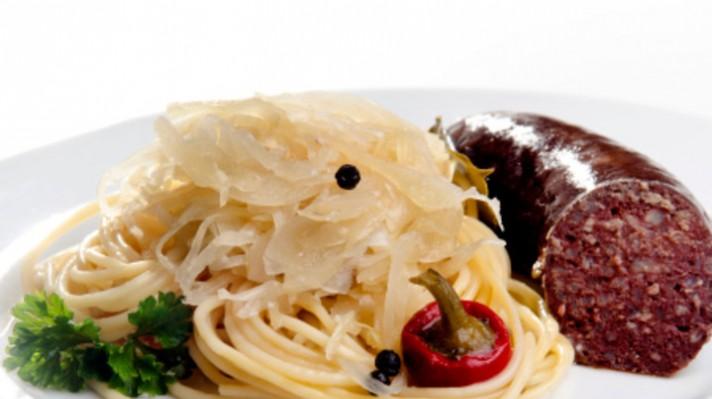Спагети със зеле по тиролски|escape