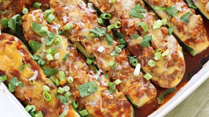 Пълнени тиквички с пилешко месо по мексикански|escape