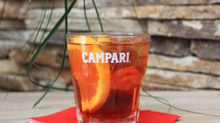 Campari коктейл escape