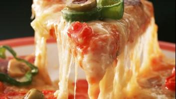Пица с чушки и маслини
