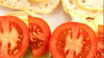Сандвичи със салата айсберг и домати