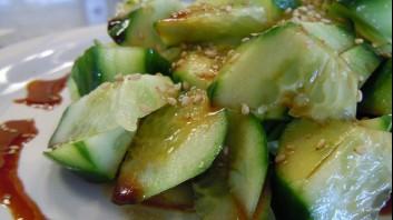 Шанхайска салата от краставици