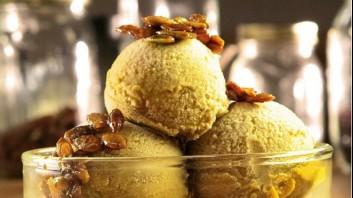 Сладолед от тиква