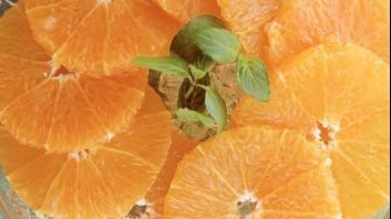 Салата от мандарини