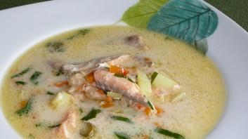 Рибена супа с кокосово мляко