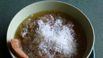 Супа с праз и сирене