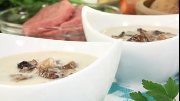 Гъбена крем супа с кокосово мляко