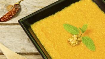 Десерт от тиква с царевично брашно