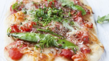 Пица с арабска питка