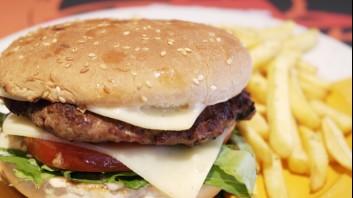Хамбургер с кюфтенца