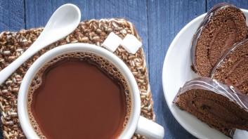 Горещ шоколад със сухо мляко