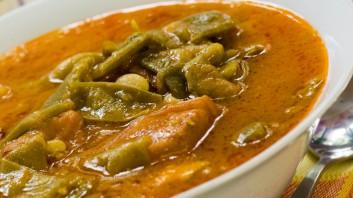 Яхния със зелен фасул и месо