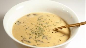Картофена крем супа с гъби
